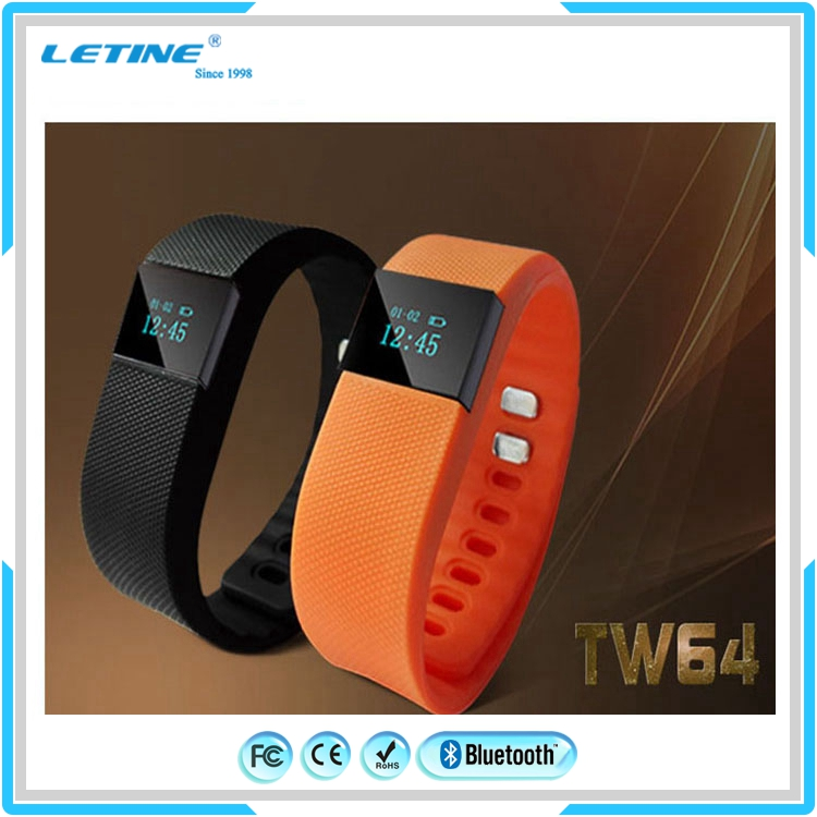 Watch Bracelet Wristband TW64 pedometer health band waterproof IP67 All functions smart bracelet