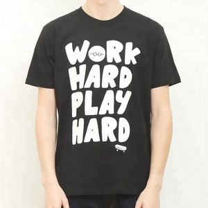 Work Hard Play Hard Fantastic Fashionable Custom Design Soft Aeropdtale Wholesale T Shirt
