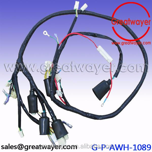 Rubber Connector Motorcyle Wiring Harness