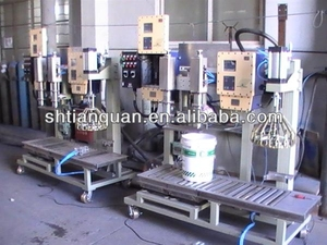 auto pails filling capping Machine
