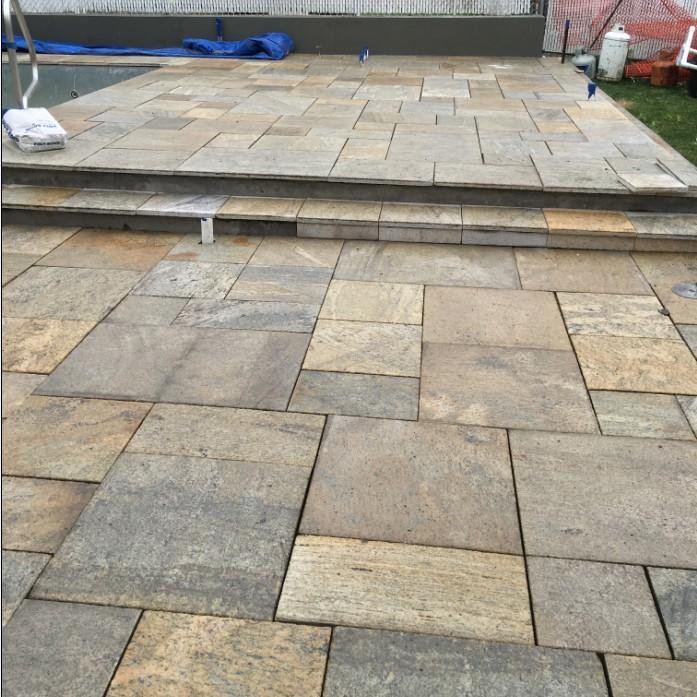 Yellow Color Granite Material Patio Pavers Lowes Buy Patio Pavers Lowes Product On Alibaba Com