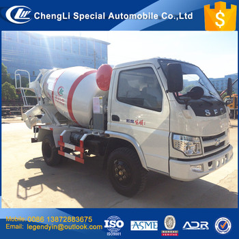 Clw Best Sales Small Concrete Mixer Truck 4x2 1.5 Cbm 2 Cbm Mini ...