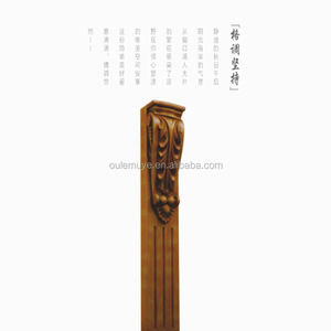 High quality natural wood roman pillar for sale