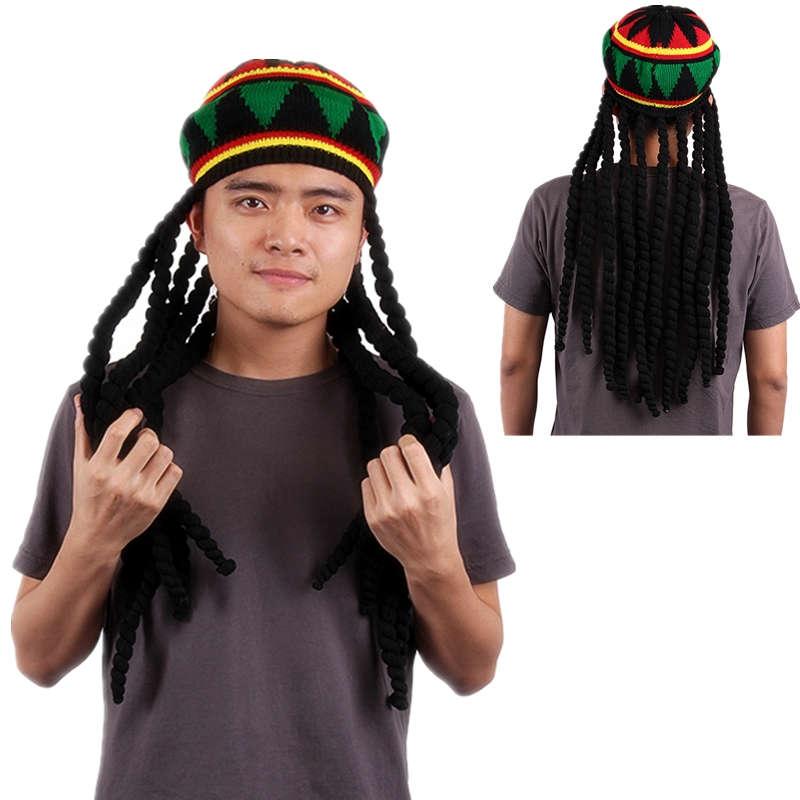 Chinese Rastafarian Adult Mens Jamaican Rasta
