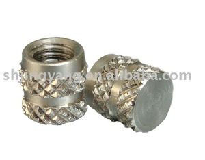 Professional supply new products molded-in threaded inserts -fastener