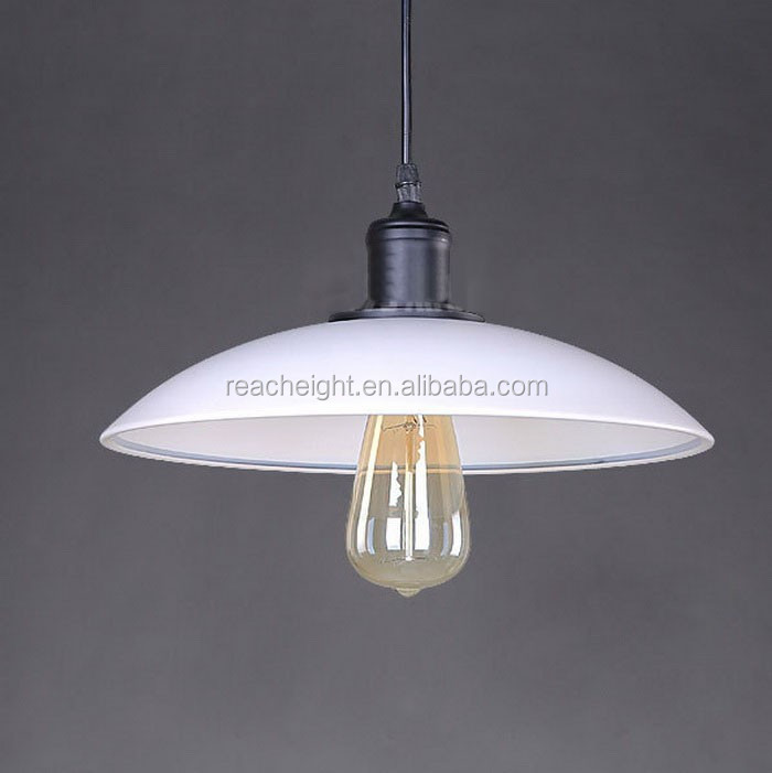 Vintage Style Dining Room Lamp,Iron Edison Bulb Suspended Pendant ...