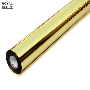 Gold hot stamping foil roll for paper