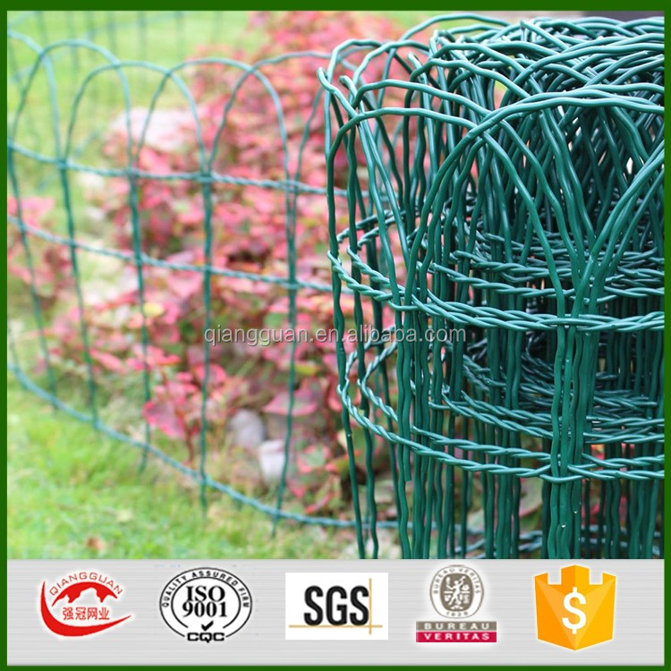 Border Edging Scroll Top Wire Fence For Garden/decorative Garden Border  Fencing
