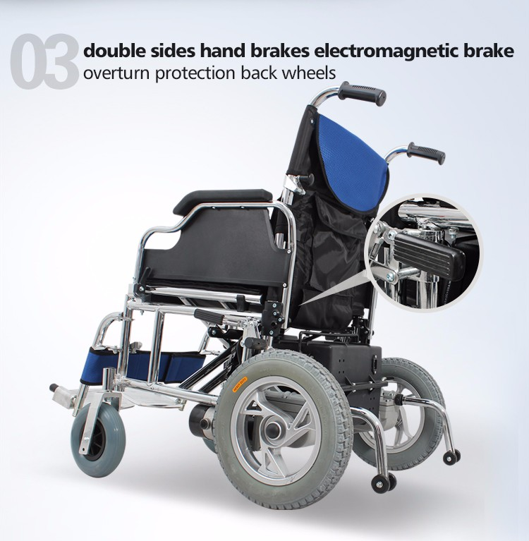 Light Weight Electronic Power Wheelchair For Disabled