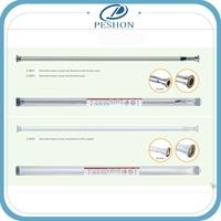 Good quality double shower curtain rod