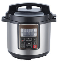 Multi use Intenlligent electric pressure cooker slow cooker rice cooker