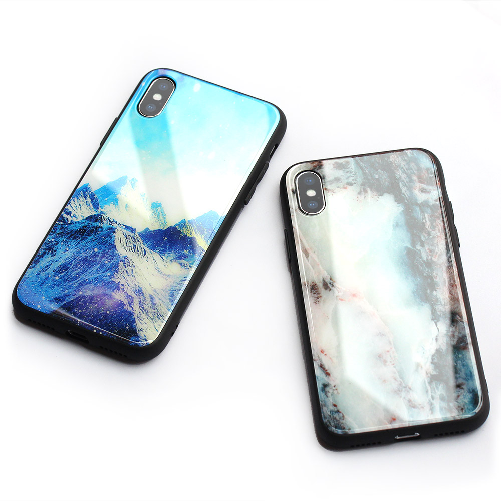 The Latest Mobile Phone <strong>Cover</strong> for Samsung S9 Glass Case For iPhone