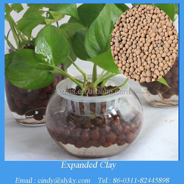 Soiless LECA clay pellets for hydroponic and aquarium