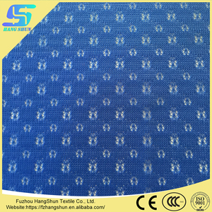 Wholesale Polyester plum blossom hole mesh fabric