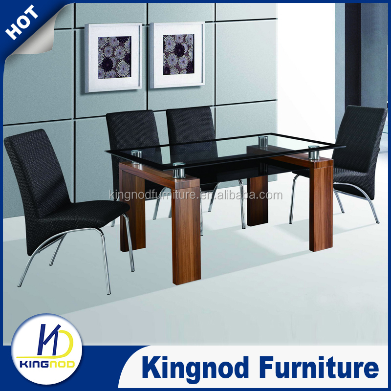 Seater Dining Table Set Modern Glass Wooden Dining Sets