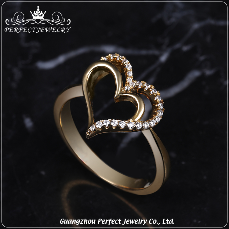 Perfect Jewelry Factory Wholesale Micro Paved Zc Stone Double