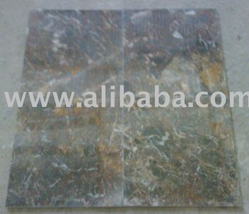 Gris Nebula Marble Tile