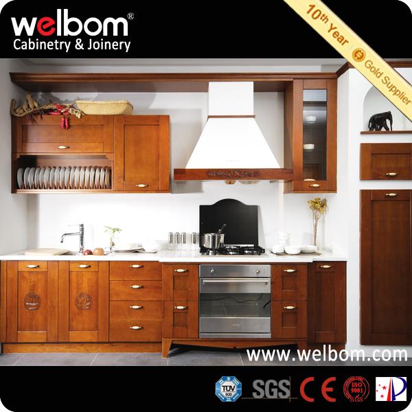 Madera oscura de cerezo gabinete de cocina estilo for Estilos de gabinetes de cocina modernos