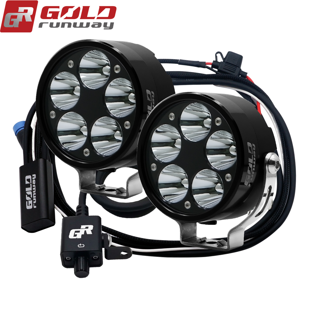 high power super bright waterproof 50W motorcycle led driving lights, led motorcycle lights