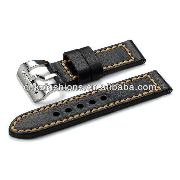 24mm Vintage HandCraft Genuine Leather nato Watch Strap