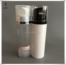 130ml natural color empty airless cosmetic bottle