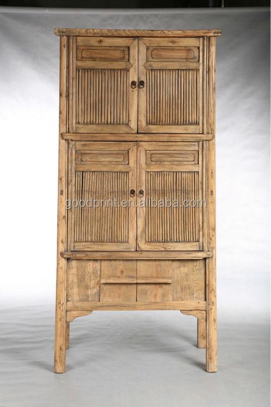 Chino Reciclar Muebles De Bambú Color Natural Antiguo Gabinete De Cocina  J72-016 - Buy Antigua Cocina De Madera Sólida,Auto Montar Gabinetes De ...