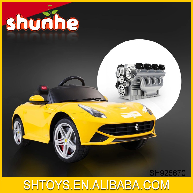F12 Children 12V Battery Plastic Material And Can Connect MP3 Electric Ride On Car With Licensed