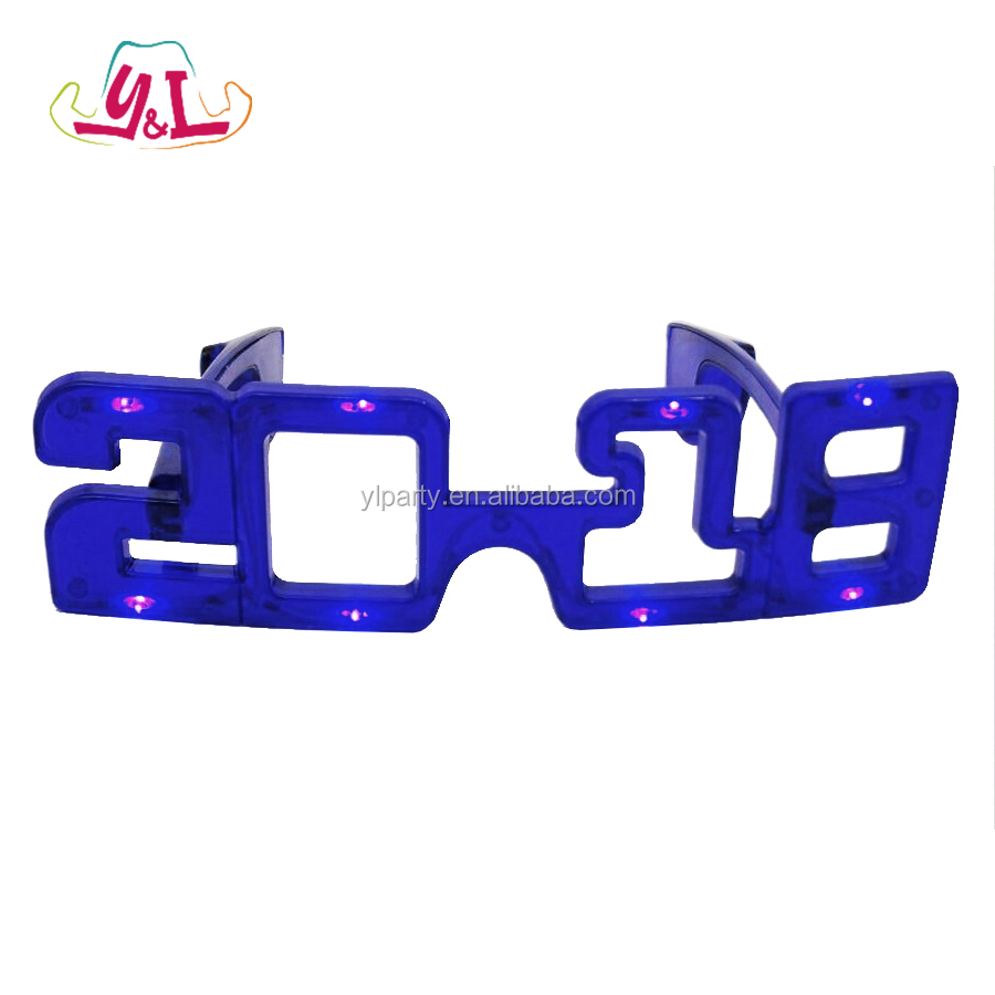 New 2018 Hot Selling Led Glasses For Party Decoration Set