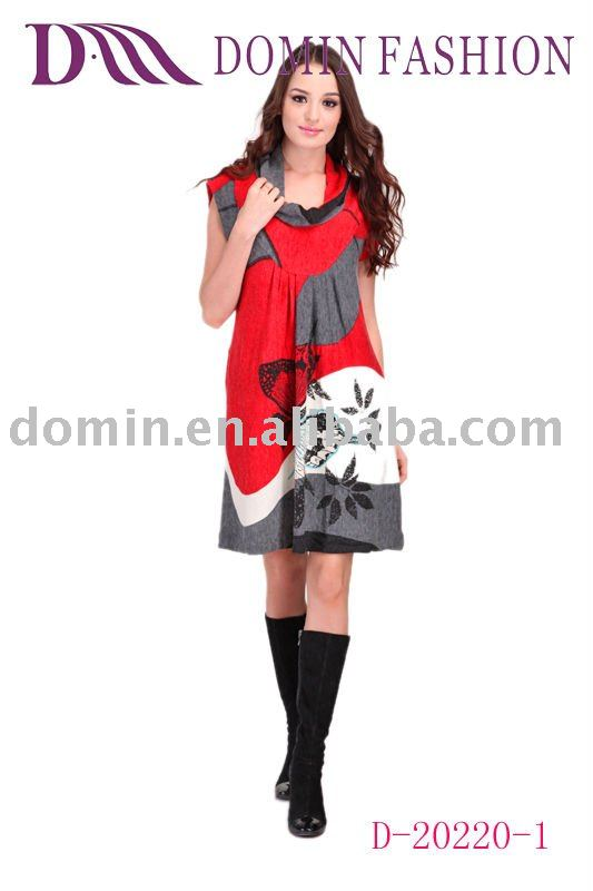 Beautiful fashion Ladies'Fashion Sweater Dress