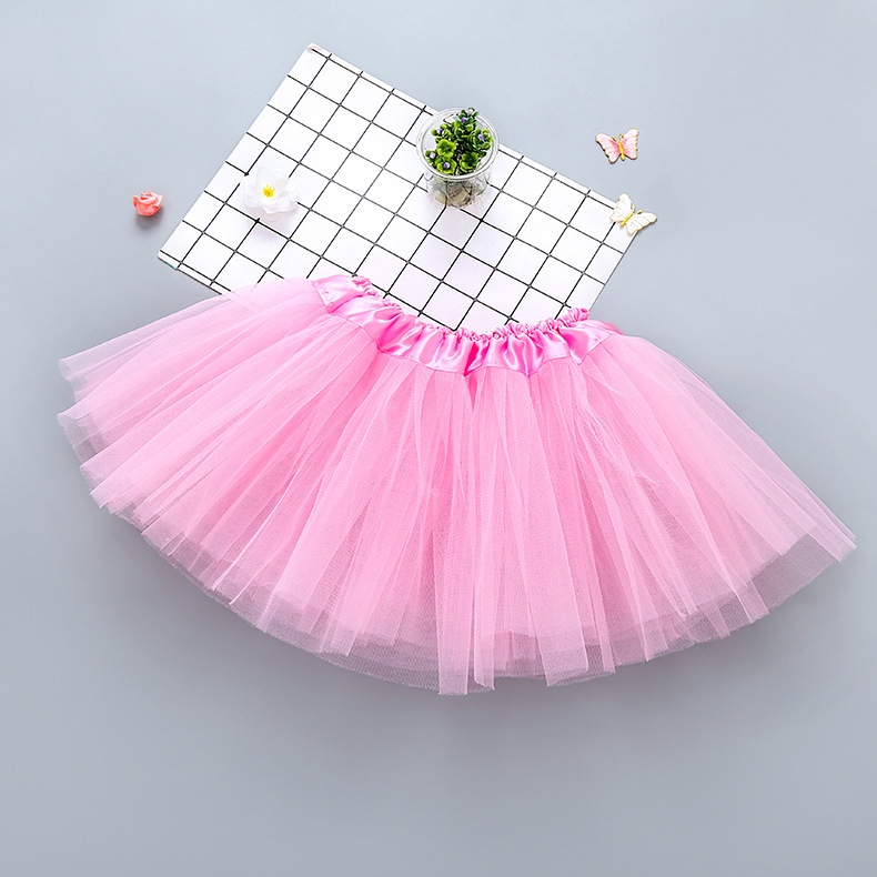 wholesale baby tutu skirts baby girls' skirts pettiskirt for Kids polyester tutu dress