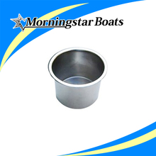 "High quality for yacht and boat 4"" s/s marine steel cup holder"