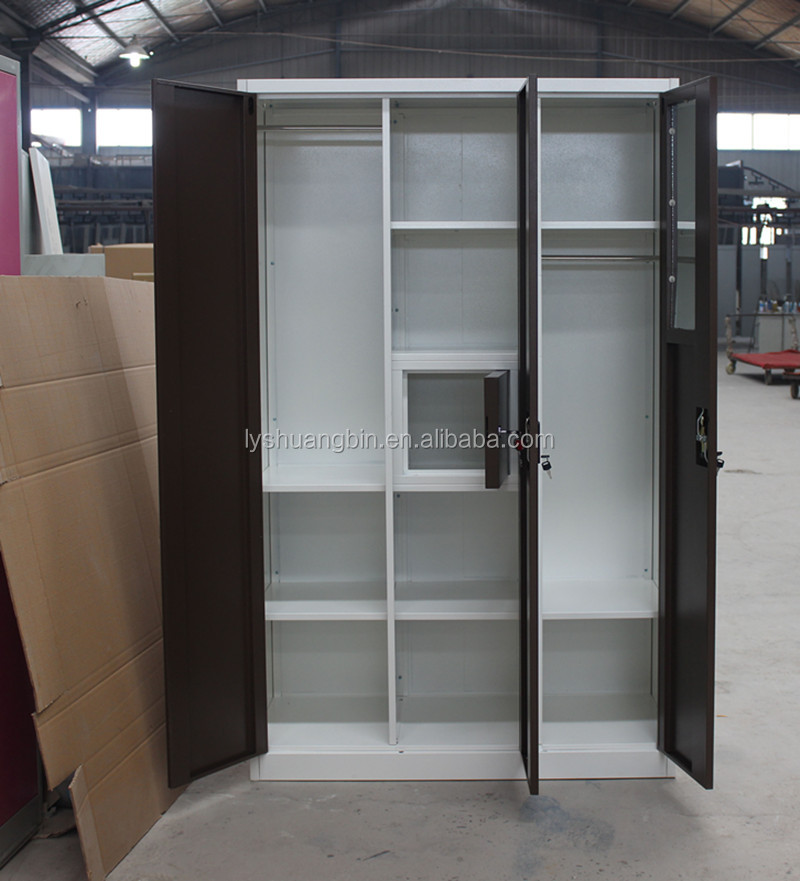 Clothes steel wardrobe cabinet godrej almirah designs with price buy godrej almirah designs - Almirah designs for clothes ...