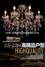 2012 Nov latest promotion crystal chandelier pendant lamp with K9 crystal,Meerosee china chandelier supplier