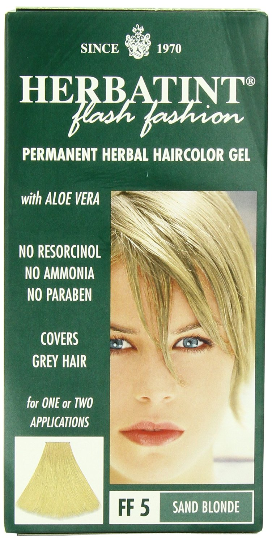 Buy Herbatint Hair Color, Light Golden Blonde, 4 Fluid Ounce in ...