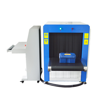 Double Detector X Ray Luggage Scanner , High Resolution Color X Ray Luggage Machine