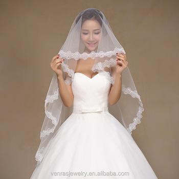 15 M Sequin Lace White Wedding Veil Bride Bridal Long 2017 Accessories