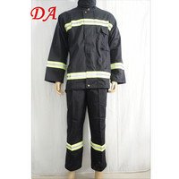 High quality flame proof firefighter suit