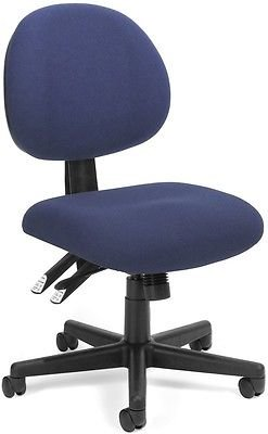 Medical Office Task Chair in Color Choice Fabric - Clinic Receptionist Chair