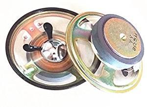"""2pcs 3"""" inch 8ohm 8Ω 5W Full-range Audio Waterproof Speaker Loudspeaker"""