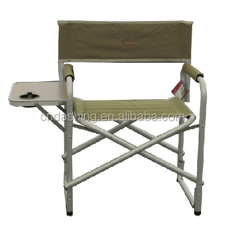 outdoor aluminum tall lawn folding canavas director chair