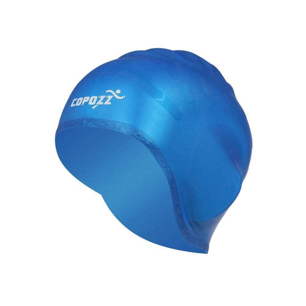 ad3e367c3d0 Swim Cap, Bath Cap-Silicone, Waterproof, Elastic, Soft and Comfortable Water