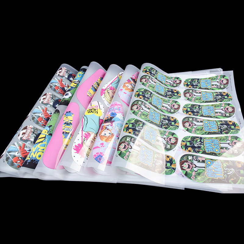 EVA Slipper Heat Transfer Printing sticker