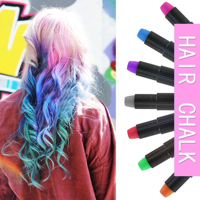 Top Sale Colorful Hair Dye Chalk With The Factory Price Private Label  Organic Hair Color Chalk Round Hair Chalk - Buy Organic Hair Chalk,Instant  Hair ...