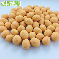 Roasted Coated Peanut Snack with Sweet Corn Flavor, Roasted Coated Sweet Corn Peanut