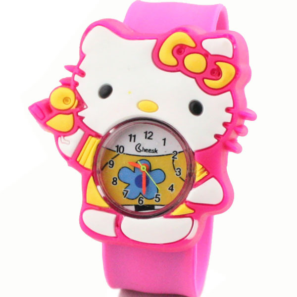 1930498d2 Get Quotations · 2014 New Fashion Brand Cartoon Quartz Watch Cute Lovely  Hello Kitty Jelly Watch Casual Dress Watches