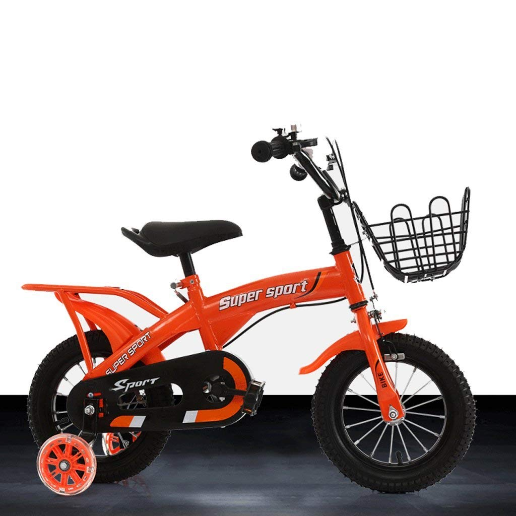 DUWEN Children's bicycle Children's Bicycle 12/14/16 Inch 2-3-6-8 Year Old