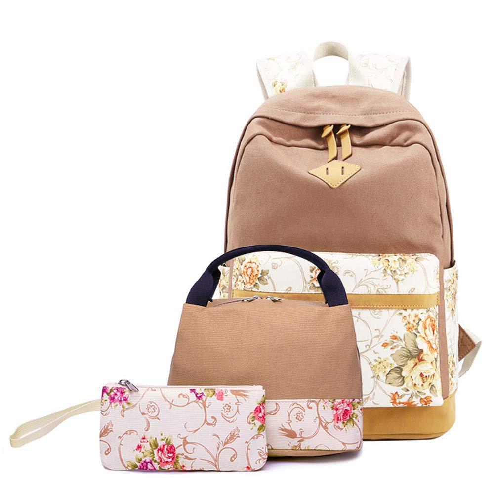 0a6eb3e9c887 Get Quotations · elecfan 3 Pack Schoolbag
