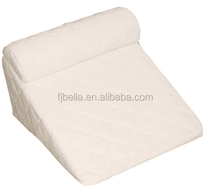 Bed Wedge Pillow Set- reading pillow Pillow System for wedge for bed - Hypoallergenic Memory Foam Support