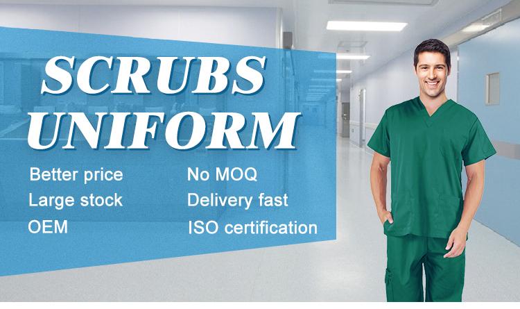 2018 goedkope nieuwe stijl overalls ziekenhuis uniform