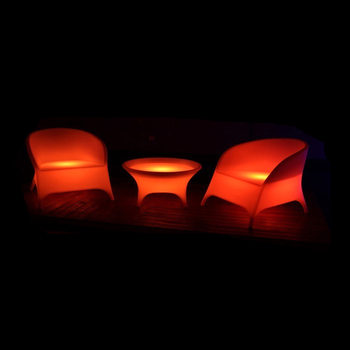 Wholesale best price 16 colors change LED lighting LED chair